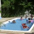 夏期シーズンのプール